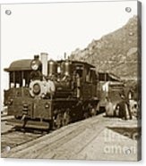 Shay No. 498 At The Summit Of Mt. Tamalpais Marin Co California Circa 1902 Acrylic Print