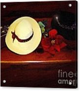 She Loved Hats Acrylic Print