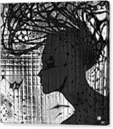 She Rocks Acrylic Print