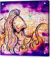 She Rose From Fire  Acrylic Print
