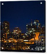 She Sparkles In The Night Acrylic Print