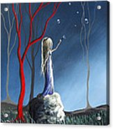 She Whispers Her Dreams By Shawna Erback Acrylic Print