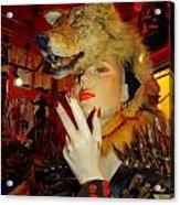 She Wolf Acrylic Print