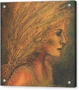 Sheaves Acrylic Print