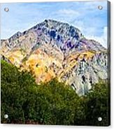 Sheep Mountain Alaska   Acrylic Print by Chris Heitstuman