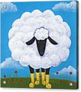 Sheep Nursery Art Acrylic Print