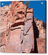 Sheer Canyon Walls Acrylic Print