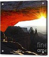 Sheer Magic Mesa Arch Utah Acrylic Print