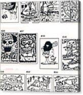 Sheet Four Acrylic Print