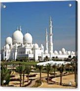 Sheikh Zayed Bin Sultan Al Nahyan Grand Acrylic Print