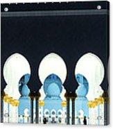 Sheikh Zayed Grand Mosque - Abu Dhabi - Uae Acrylic Print