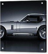 Shelby Daytona - Bullet Acrylic Print by Marc Orphanos