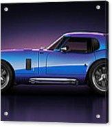 Shelby Daytona - Velocity Acrylic Print by Marc Orphanos