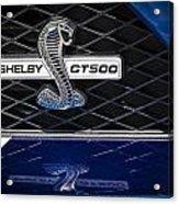 Shelby Gt 500 Acrylic Print