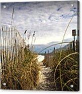 Shell Island Beach Access Acrylic Print