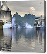 Shelter Harbor 2 Acrylic Print by Claude McCoy