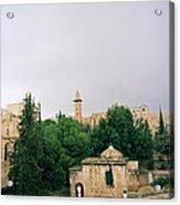 Historic Jerusalem Acrylic Print