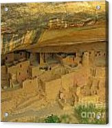 Shelter Under The Cliffs Acrylic Print