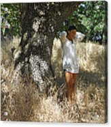 Sheltered From The Heat Acrylic Print