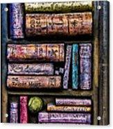 Shelved - 14 Acrylic Print