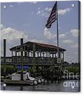 Shem Creek Bar And Grill Acrylic Print