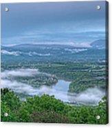 Shenandoah Evening Fog Acrylic Print