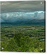 Shenandoah Green Valley Acrylic Print by Lara Ellis