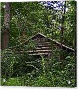 Shenandoah Log Cabin Acrylic Print