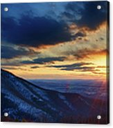 Shenandoah Sunset Acrylic Print