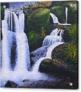 Shenandoah Valley Falls Acrylic Print