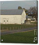 Shenandoah Valley Farm Panorama Acrylic Print