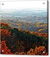 Shenandoah Valley Fall Panorama Acrylic Print