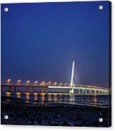 Shenzhen Bay Bridge Acrylic Print