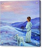 Shepherd boy Acrylic Print