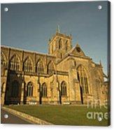Sherborne Abbey  Acrylic Print
