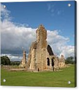 Sherborne Old Castle - 2 Acrylic Print