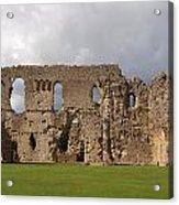 Sherborne Old Castle - 3 Acrylic Print