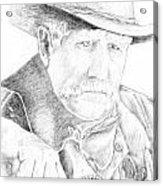 Sheriff Acrylic Print