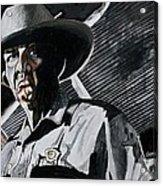 Sheriff Hoyt Acrylic Print by Jeremy Moore