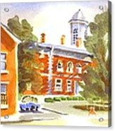 Sheriffs Residence With Courthouse Acrylic Print