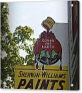 Sherwin Williams Acrylic Print