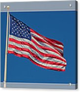 She's A Grand Old Flag Acrylic Print by Floyd Hopper