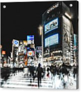 Shibuya Crossing Acrylic Print