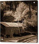 Shimla Rail Road Acrylic Print