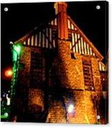 Shimla At Night Acrylic Print
