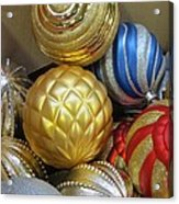 Shimmering Bauble Acrylic Print