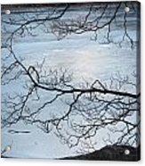 Shimmering Ice Acrylic Print