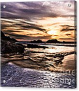 Shimmering Sea Acrylic Print