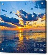 Shimmering Sundown Acrylic Print