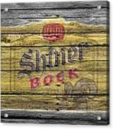 Shiner Bock Acrylic Print